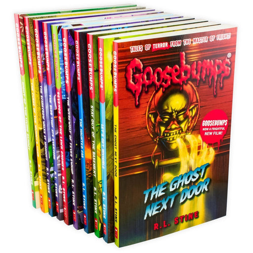 R L Stine The Classic Goosebumps Series 10 Book Collection (Set 1) - Horror Fiction - Paperback - R L Stine - Books2Door