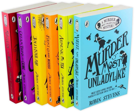 A Murder Most Unladylike Mystery 6 Book Collection - Ages 9-14 - Paperback - Robin Stevens 9-14 Puffin