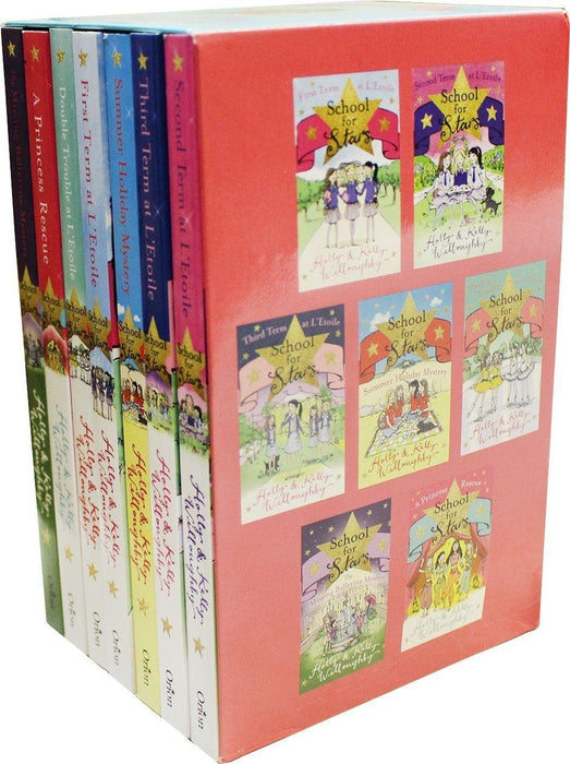 School for Stars Series 7 Books Box Set Collection - Ages 9-14 - Paperback - Kelly & Holly Willoughby - Books2Door