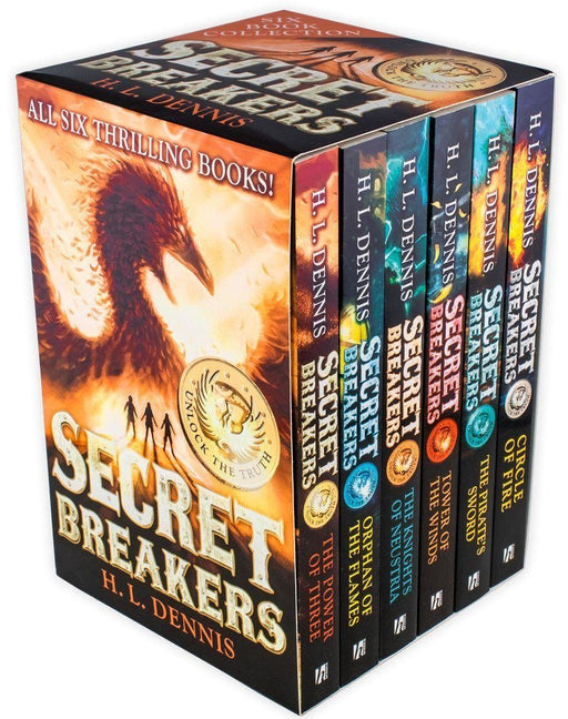 Secret Breakers 6 Book Collection - Ages 9-14 - Paperback - H. L. Dennis - Books2Door