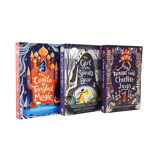 Sophie Anderson House with Chicken Legs 3 Books - Paperback - Age 9-14 9-14 Usborne Publishing Ltd