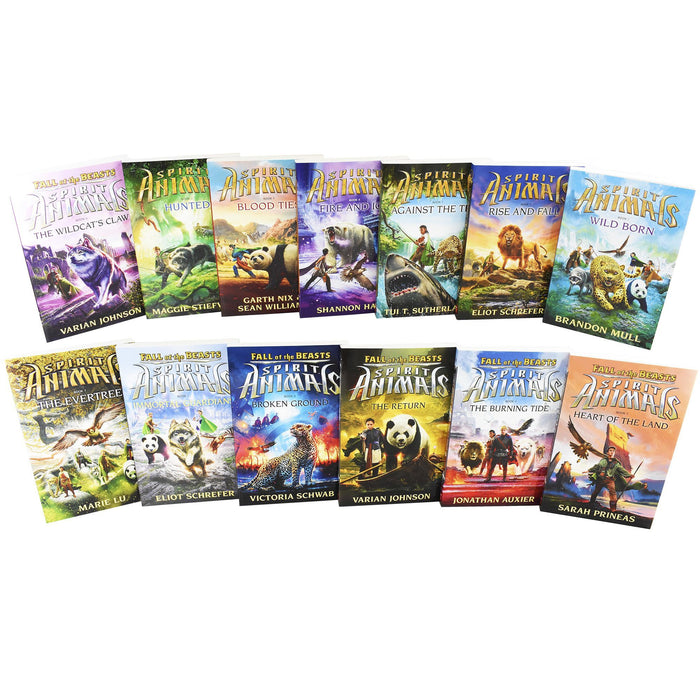 Spirit Animals 13 Books Children Box Set Collection - Ages 9-14 - Paperback - Books2Door