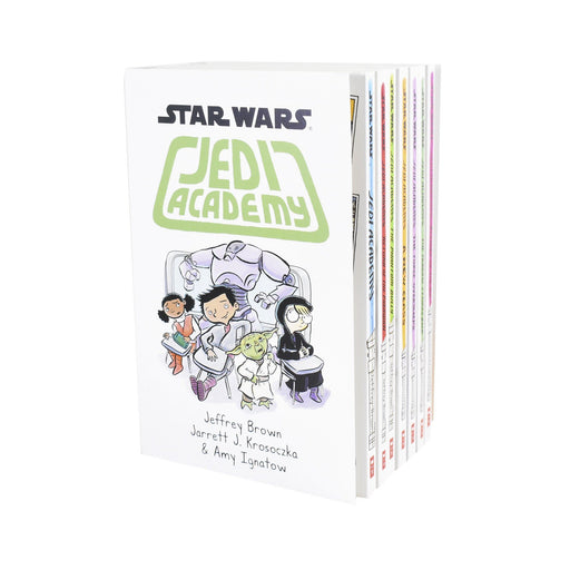 9-14 - Star Wars Jedi Academy 7 Book Collection - Ages 9-14 - Paperback - Jeffrey Brown & Jarrett J. Krosoczka
