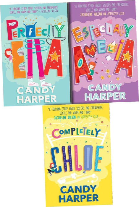 Strawberry Sisters 3 Books Collection Set - Ages 9-14 - Paperback - Candy Harper - Books2Door
