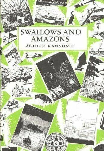 Swallows & Amazons 4 Book Collection - Ages 9-14 - Paperback - Arthur Ransome - Books2Door