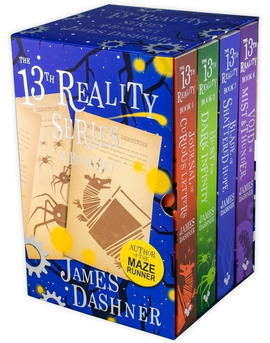 The 13th Reality Series 4 Book Box Set - Ages 9-14 - Paperback -  James Dashner - Books2Door