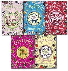 The Chocolate Box Girls 5 Book Collection - Ages 9-14 - Paperback - Cathy Cassidy - Books2Door