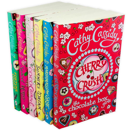 The Chocolate Box Girls 6 Book Collection - Ages 9-14 - Paperback - Cathy Cassidy 9-14 Puffin