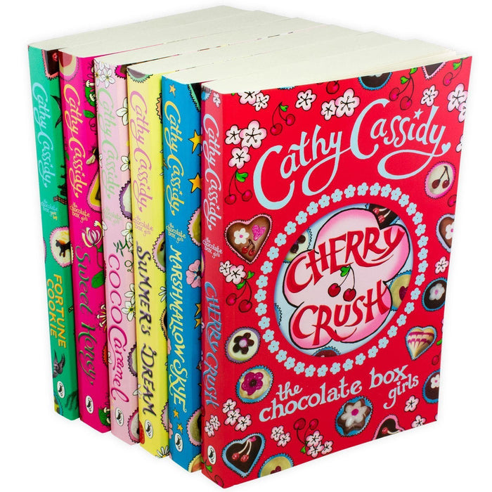 The Chocolate Box Girls 6 Book Collection - Ages 9-14 - Paperback - Cathy Cassidy - Books2Door
