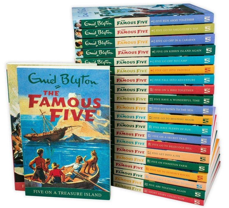 The Complete Famous Five Library - Ages 9-14 - Paperback - Enid Blyton - Books2Door