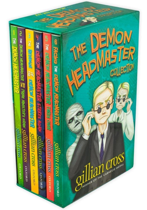 The Demon Headmaster Collection 6 Books Box Set - Fiction - Paperback - Gillian Cross 9-14 Oxford University