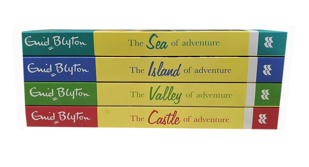 9-14 - The Enid Blyton Adventure Series 4 Books Collection - Ages 9-14 - Paperback - Enid Blyton