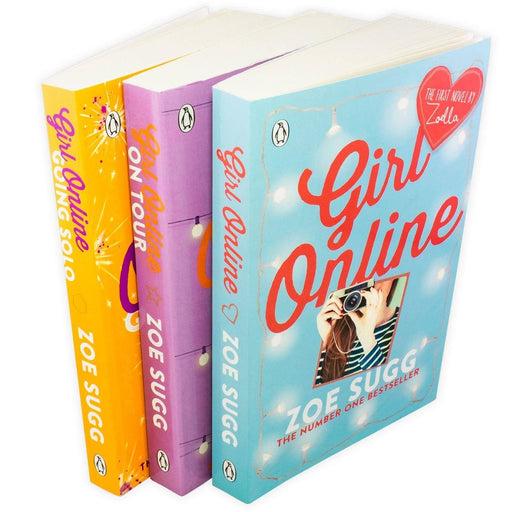 The Girl Online 3 Book Collection - Ages 9-14 - Paperback - Zoe Sugg - Books2Door