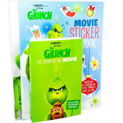 The Grinch 3 Book Collection - Ages 9-14 - Paperback - Dr.Seuss - Books2Door