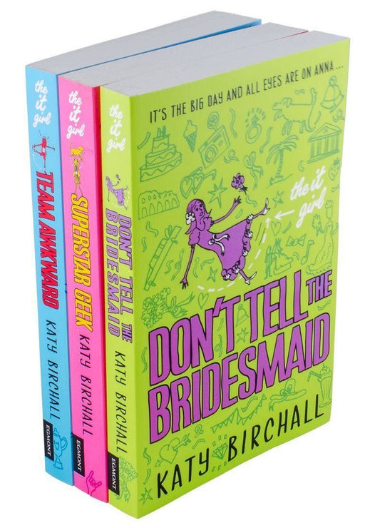 The It Girl 3 Books - Ages 9-14 - Paperback -  Katy Birchall - Books2Door