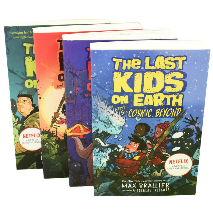 The Last Kids on Earth Collection 4 Books Set By Max Brallier Netflix Original - Books2Door