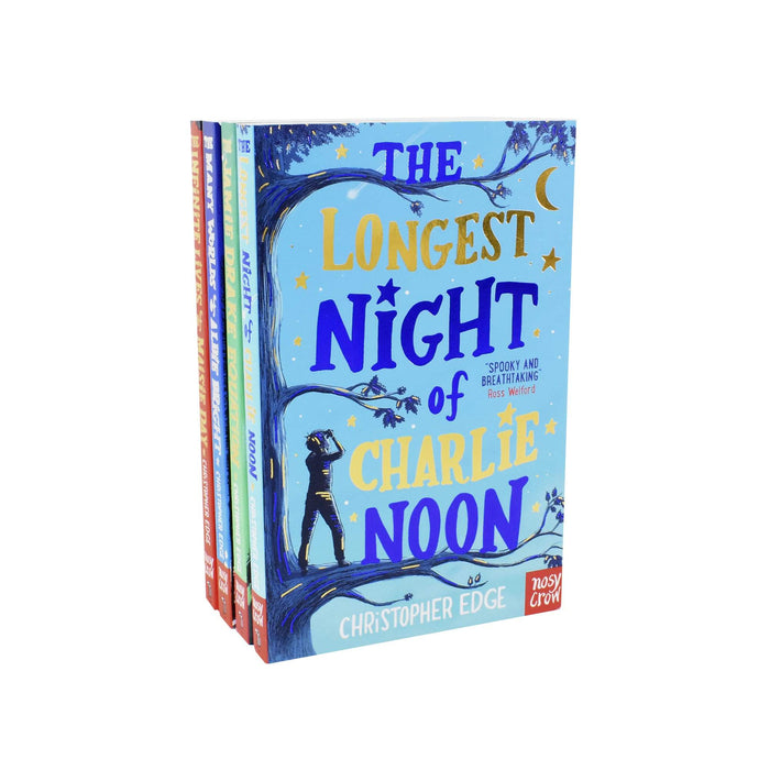 9-14 - The Longest Night Of Charlie Noon 4 Books Collection - Ages 9-14 - Paperback - Christopher Edge