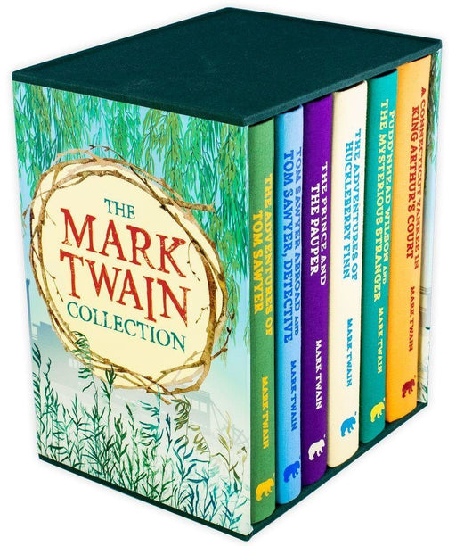 The Mark Twain 6 Book Collection - Ages 9-14 - Cloth Bound Hardback - Books2Door