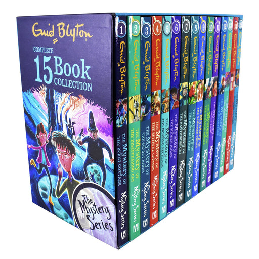 The Mystery Series Find-Outers Complete 15 Books Collection Box Set – Ages 9-14 – Paperback - Enid Blyton 9-14 Hodder