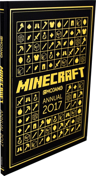 The Official Minecraft Annual 2017 - Ages 9-14 - Hardback - Mojang AB - Books2Door