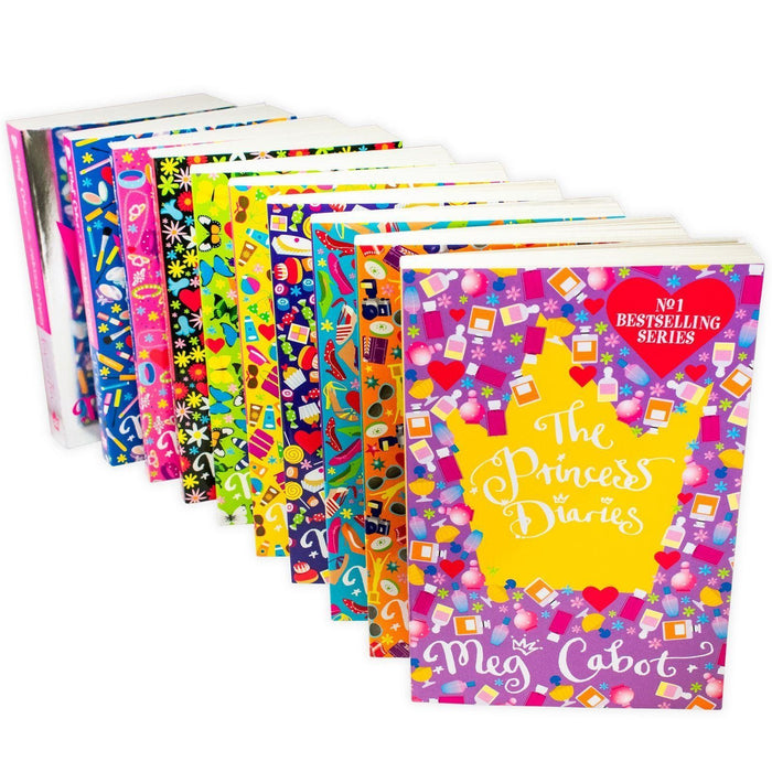 The Princess Diaries 10 Books Collection Set - Ages 9-14 - Paperback - Meg Cabot - Books2Door