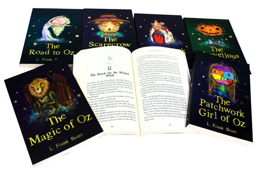 The Wizard of Oz 15 Books Boxed Set - Children's & Young Adult Fiction - Paperback - L. Frank Baum - Books2Door