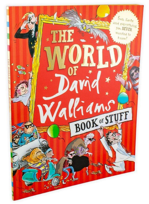The World of David Walliams Book of Stuff - Ages 9-14 - Paperback - Books2Door