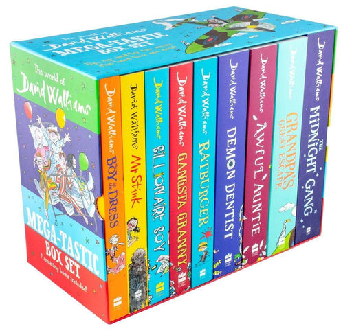 The World of David Walliams: Mega-tastic 9 Books Box Set - Books2Door