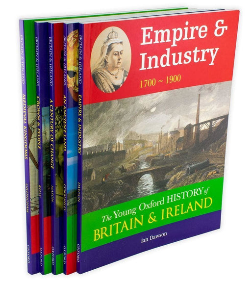 The Young Oxford History of Britain and Ireland 5 Book Collection - Ages 9-14 - Paperback - Books2Door