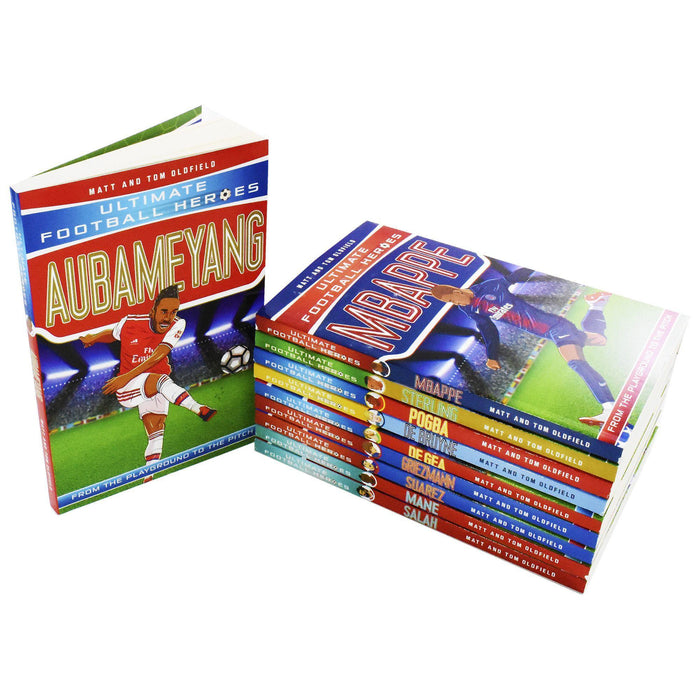 Ultimate Football Heroes Series 2 - 10 Book Collection - Ages 9-14 - Paperback -  Tom Oldfield - Books2Door