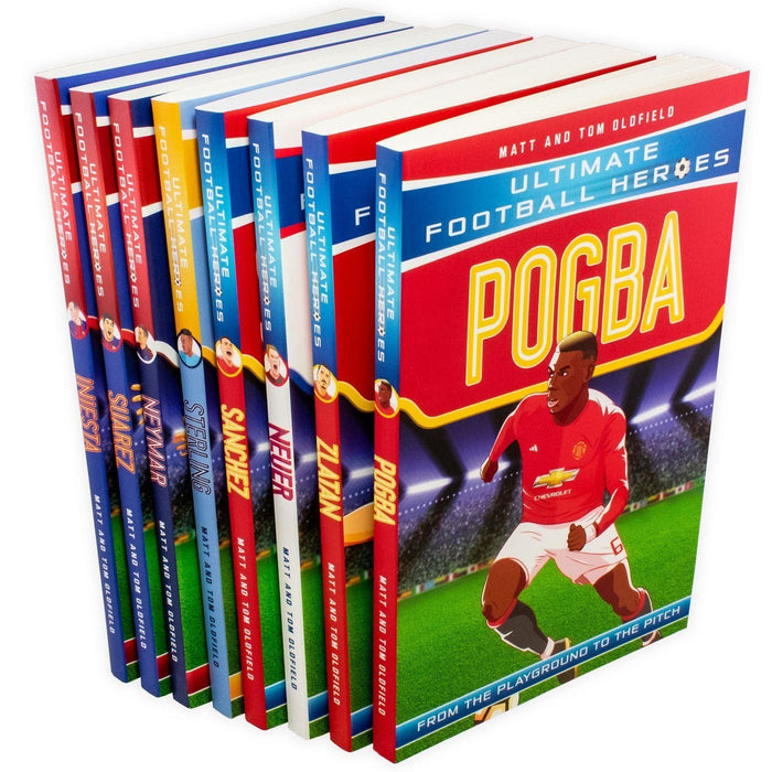 Ultimate Football Heroes Series 2 - 8 Book Collection - Books2Door