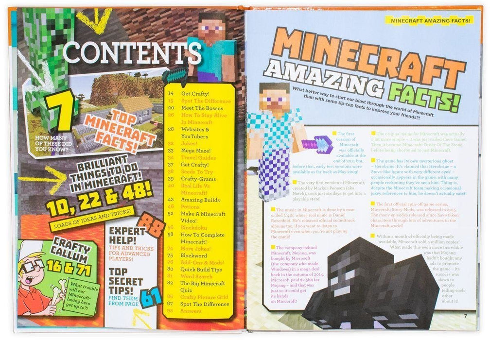 Unofficial Minecraft Guide 2019 Annual: Secrets and Cheats - Books2Door