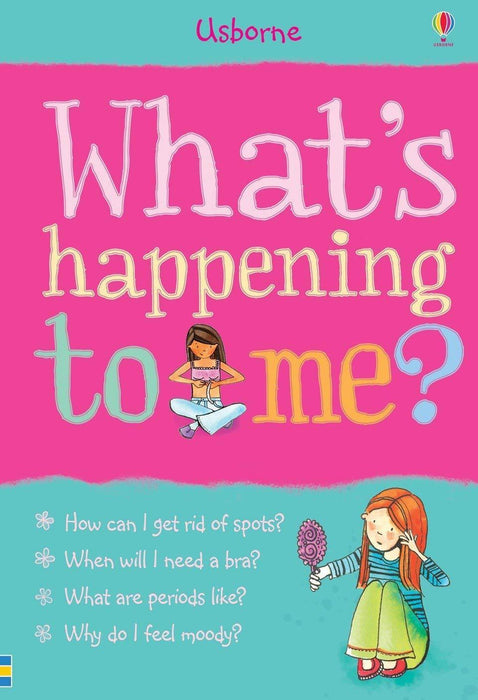 What's Happening to Me? Girl - Ages 9-14 - Paperback - Susan Meredith - Books2Door