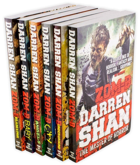 Zom-B 6 Books - Ages 9-14 - Paperback - Darren Shan - Books2Door