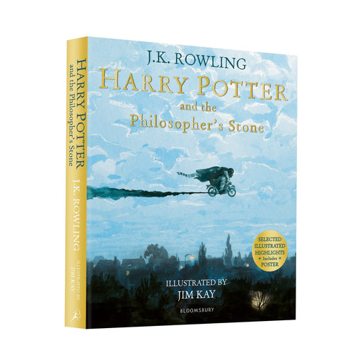 Harry Potter and the Philosophers Stone: Illustrated Edition By J.K. Rowling - Paperback - Young Adults