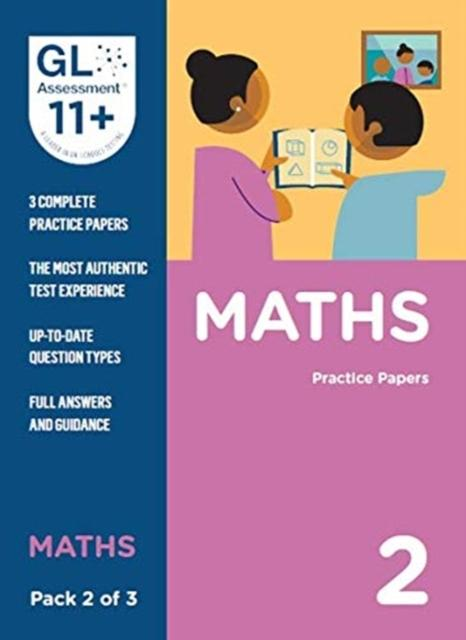11+ Practice Papers Maths Pack 2 (Multiple Choice)