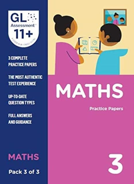 11+ Practice Papers Maths Pack 3 (Multiple Choice)