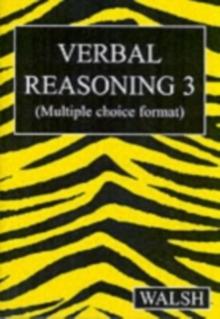 Verbal Reasoning 3 : Bk. 3
