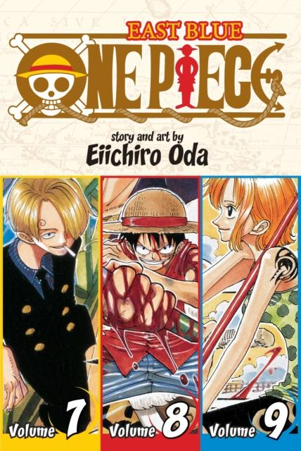 One Piece (Omnibus Edition), Vol. 3 : Includes vols. 7, 8 & 9