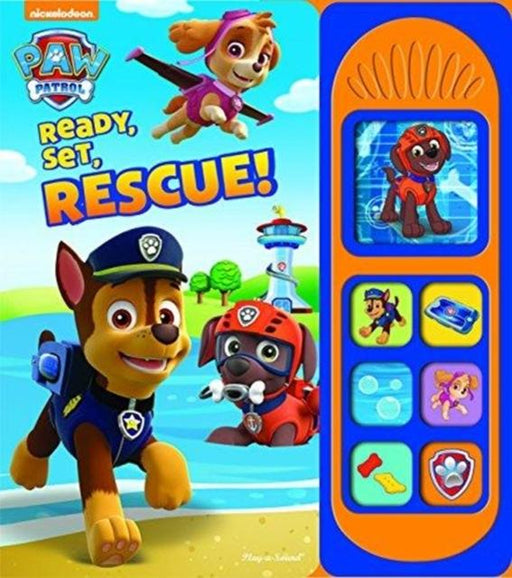 Paw Patrol Ready Set Rescue Sound Book
