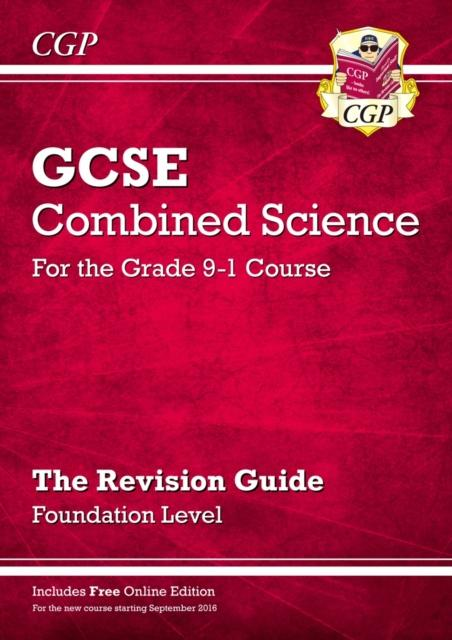 Grade 9-1 GCSE Combined Science: Revision Guide with Online Edition - Foundation