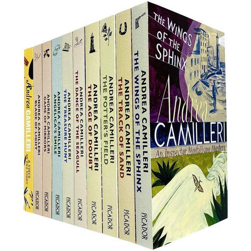 The Inspector Montalbano Mysteries 10 Book Collection Series 2 - Adult - Paperback - Andrea Camilleri