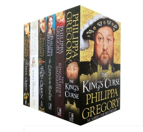 Cousins War Series By Philippa Gregory 6 Books Box Set - Historical fiction - Paperback
