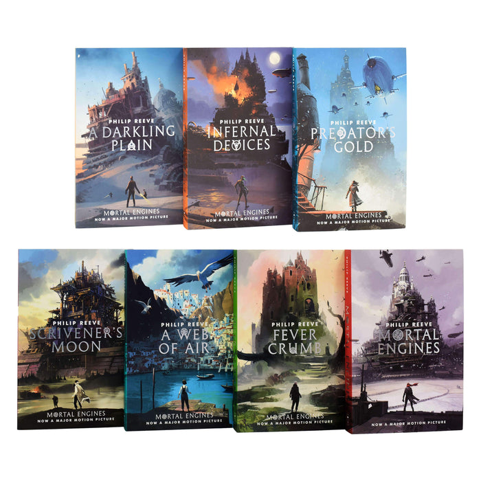 Mortal Engines Quartet 7 Books Collection by Philip Reeve - Ages 9-14 - Paperback 9-14 Scholastic
