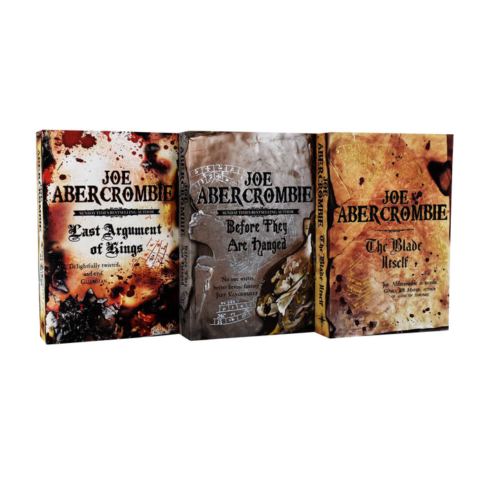 The First Law Trilogy 3 Book Collection - Young Adult - Paperback - Joe Abercrombie