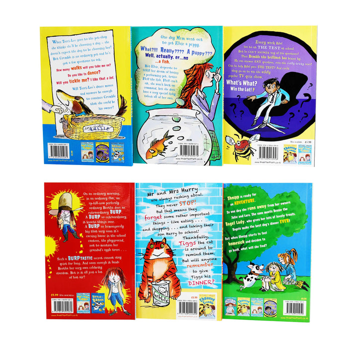 Michael Rosen Funny Stories 6 Book Collection - Paperback - Age 7-9
