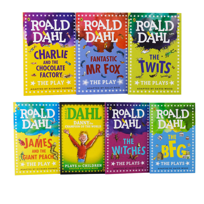 Roald Dahl The Plays 7 Books - Ages 7-9 - Paperback