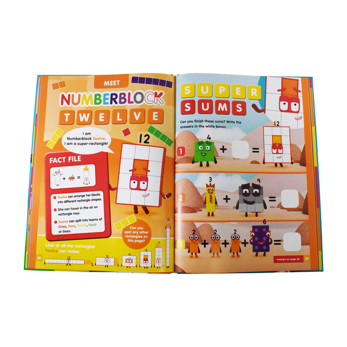 Official Numberblocks Annual 2021 - Ages 5-7 - Hardback - Sweet Cherry Publishing