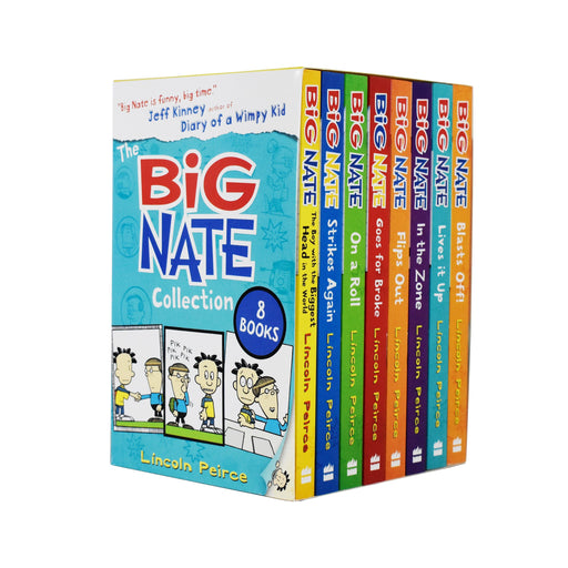 The Big Nate Collection Series 8 Books Box Set by Lincoln Peirce - Ages 9-14 - Paperback - Lincoln Peirce