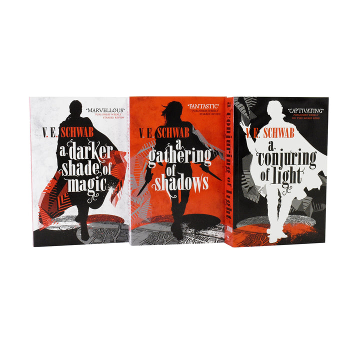 A Darker Shade Of Magic Trilogy 3 Books Set By V.E Schwab - Paperback - Young Adults